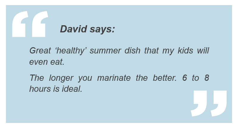 David's grill tips