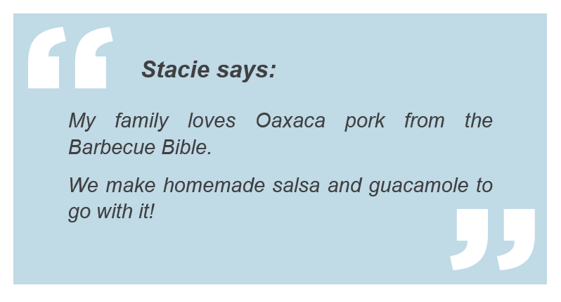 Stacie's grill tips