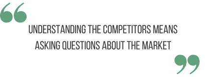"""Strategy Quote """"Understanding the competitors means asking questions about the market"""""""